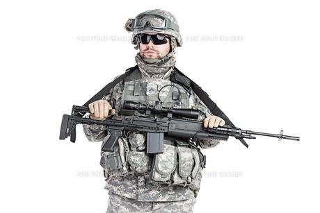 paratrooper airborne infantryの写真素材 [FYI00768256]