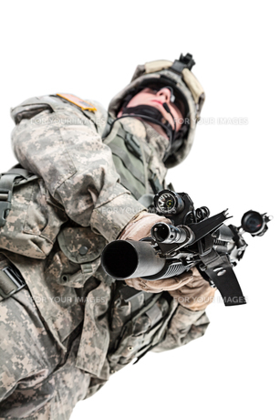 paratrooper airborne infantryの写真素材 [FYI00768257]