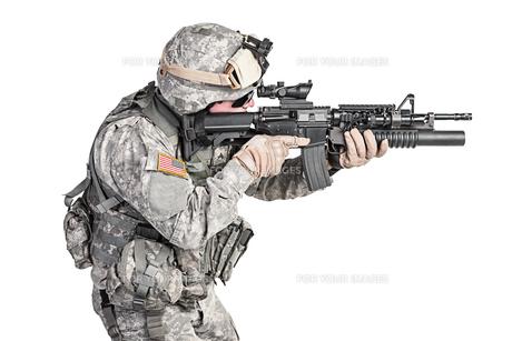paratrooper airborne infantryの写真素材 [FYI00768258]