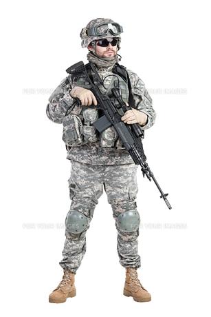 paratrooper airborne infantryの写真素材 [FYI00768259]