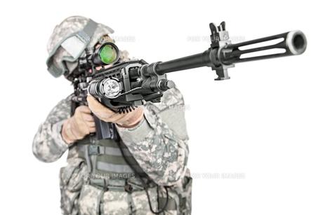 paratrooper airborne infantryの写真素材 [FYI00768262]