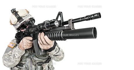 paratrooper airborne infantryの写真素材 [FYI00768263]