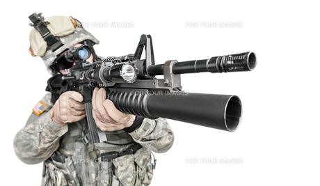 paratrooper airborne infantryの写真素材 [FYI00768264]