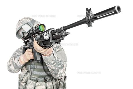 paratrooper airborne infantryの写真素材 [FYI00768265]