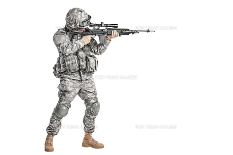 paratrooper airborne infantryの写真素材 [FYI00768266]