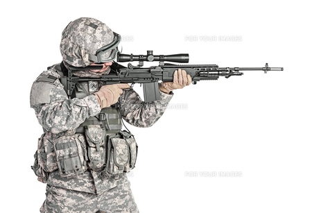 paratrooper airborne infantryの写真素材 [FYI00768267]