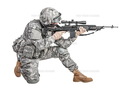 paratrooper airborne infantryの写真素材 [FYI00768268]