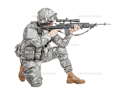 paratrooper airborne infantryの写真素材 [FYI00768269]