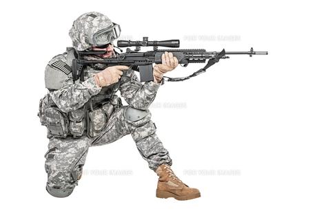 paratrooper airborne infantryの写真素材 [FYI00768270]