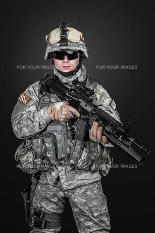 United States paratrooperの写真素材 [FYI00768271]
