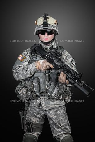 United States paratrooperの写真素材 [FYI00768273]