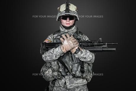 United States paratrooperの写真素材 [FYI00768274]