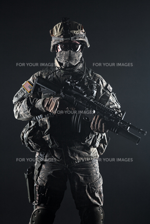 United States paratrooperの写真素材 [FYI00768277]
