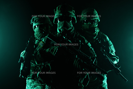 paratroopers airborne infantryの写真素材 [FYI00768283]