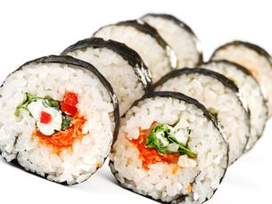 Maki sushi,Maki sushi,Maki sushi,Maki sushiの写真素材 [FYI00768436]