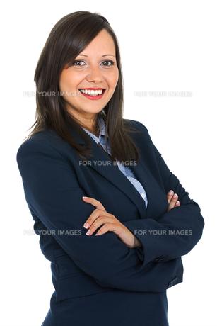 Businesswoman portraitの写真素材 [FYI00768499]