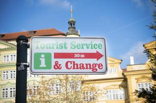 prague tourist information shieldの素材 [FYI00769065]