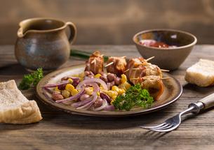 Chicken meatballsの写真素材 [FYI00770120]
