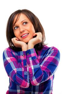 Young woman looking awayの写真素材 [FYI00770199]