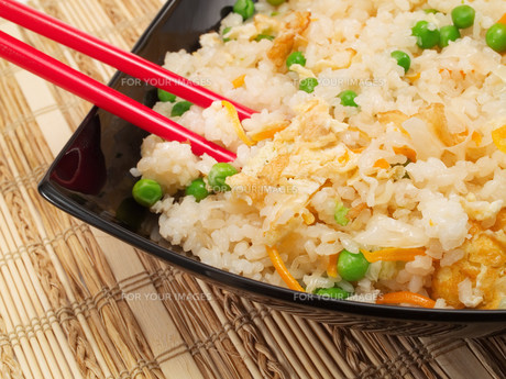 Chinese Rice With Vegetables,Chinese Rice With Vegetables,Chinese Rice With Vegetables,Chinese Rice With Vegetablesの写真素材 [FYI00770309]