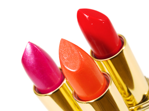 Three Lipsticksの写真素材 [FYI00770323]