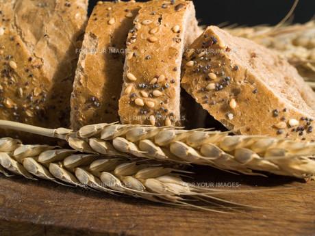 Bread and Wheat,Bread and Wheat,Bread and Wheat,Bread and Wheatの素材 [FYI00770410]