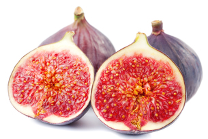 Figs isolated on whiteの写真素材 [FYI00771000]