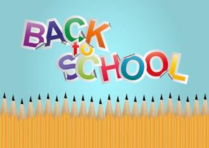 back to schoolの写真素材 [FYI00771437]