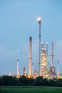 Oil Refinery Factoryの写真素材 [FYI00771652]