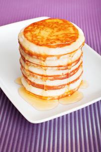 Typical american pancakesの写真素材 [FYI00771765]