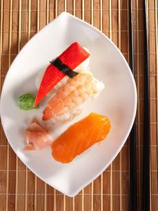 Nigiri Sushi,Nigiri Sushiの写真素材 [FYI00771798]