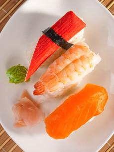 Nigiri Sushi,Nigiri Sushiの写真素材 [FYI00771803]