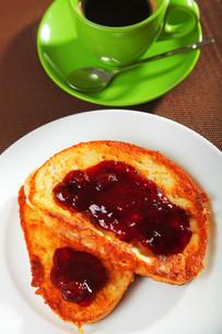 French toast with jam,French toast with jam,French toast with jam,French toast with jamの写真素材 [FYI00771862]