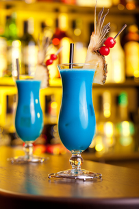 Cocktails Collection - Blue Hawaiianの写真素材 [FYI00771911]