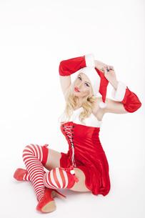 Gorgeous Christmas girlの写真素材 [FYI00771968]