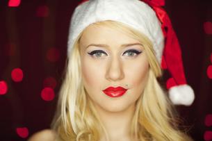 Christmas girlの写真素材 [FYI00771969]