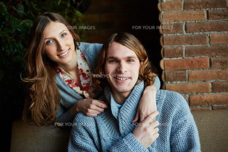 Affectionate coupleの写真素材 [FYI00772067]