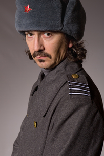russian militaryの写真素材 [FYI00772317]