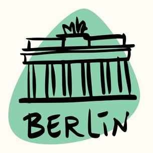 Berlin the capital of Germanyの素材 [FYI00772892]