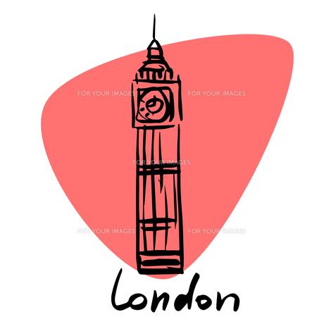London the capital of Englandの素材 [FYI00772914]