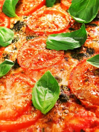 Margharita Pizza,Margharita Pizza,Margharita Pizza,Margharita Pizzaの写真素材 [FYI00772919]