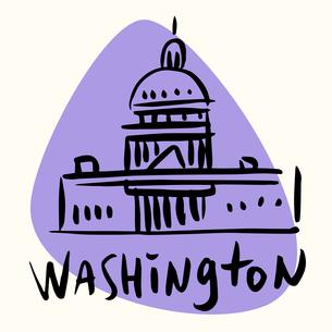 Washington capital USAの素材 [FYI00772934]