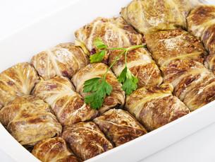 Stuffed cabbage rolls,Stuffed cabbage rolls,Stuffed cabbage rolls,Stuffed cabbage rollsの写真素材 [FYI00773100]
