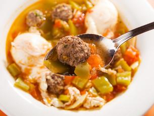 Tunisian soup,Tunisian soup,Tunisian soup,Tunisian soupの写真素材 [FYI00773112]