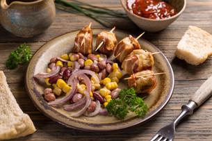 Chicken meatballsの写真素材 [FYI00773207]