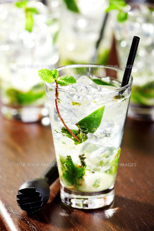 Cocktails Collection - Mojito,Cocktails Collection - Mojito,Cocktails Collection - Mojito,Cocktails Collection - Mojitoの素材 [FYI00773377]