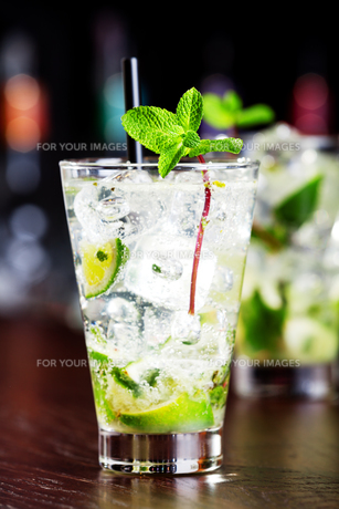 Cocktails Collection - Mojito,Cocktails Collection - Mojito,Cocktails Collection - Mojito,Cocktails Collection - Mojitoの素材 [FYI00773393]