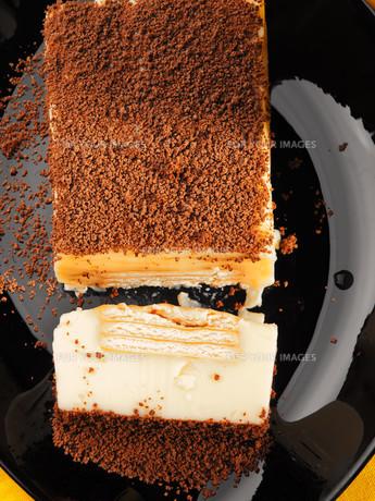 Homemade biscuit cake,Homemade biscuit cake,Homemade biscuit cake,Homemade biscuit cakeの写真素材 [FYI00773477]