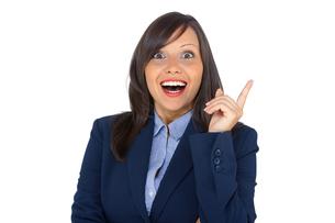 Businesswoman having an ideaの写真素材 [FYI00773663]