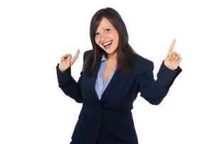 Excited businesswoman,Excited businesswoman,Excited businesswoman,Excited businesswomanの写真素材 [FYI00773686]